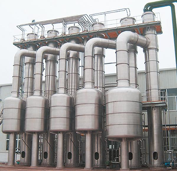 山东多效降膜蒸发机