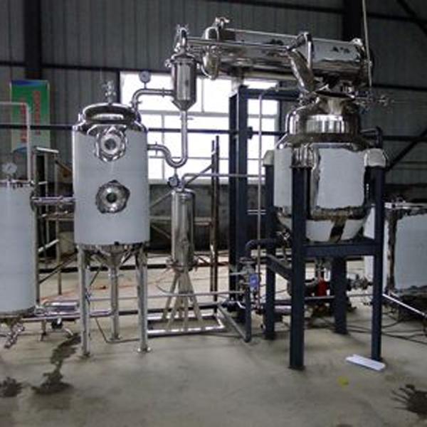 小型多功能提取浓缩回收机组